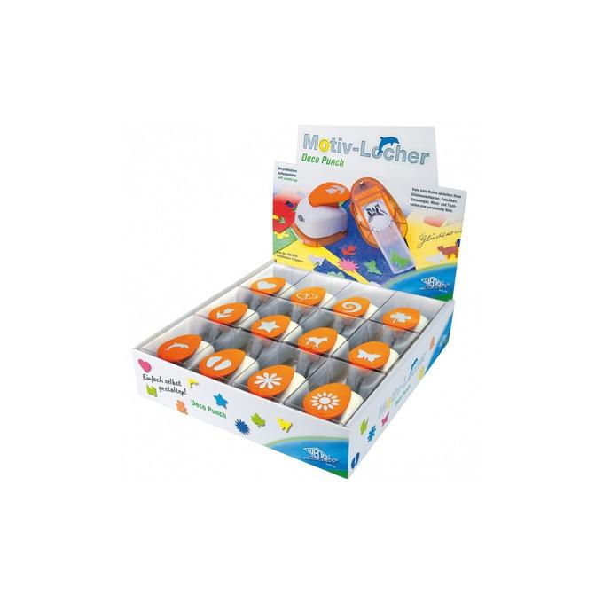 Перфоратор Wedo Deco Punch, декоративен, оранжев, цената е за 1бр. image