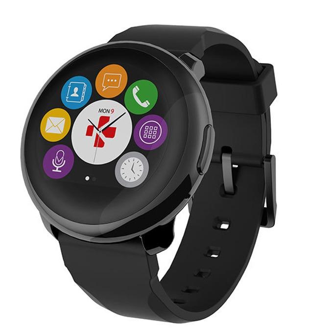 Смарт часовник MyKronoz ZeRound, Bluetooth, IP56, Android/IOS, черен image