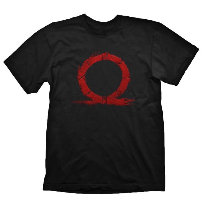 Тениска Gaya Entertainment God of War Serpent Logo, Размер XL, черна image
