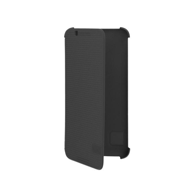 Калъф за HTC Desire 620, HC M140, отваряем, HTC, кожен, черен image