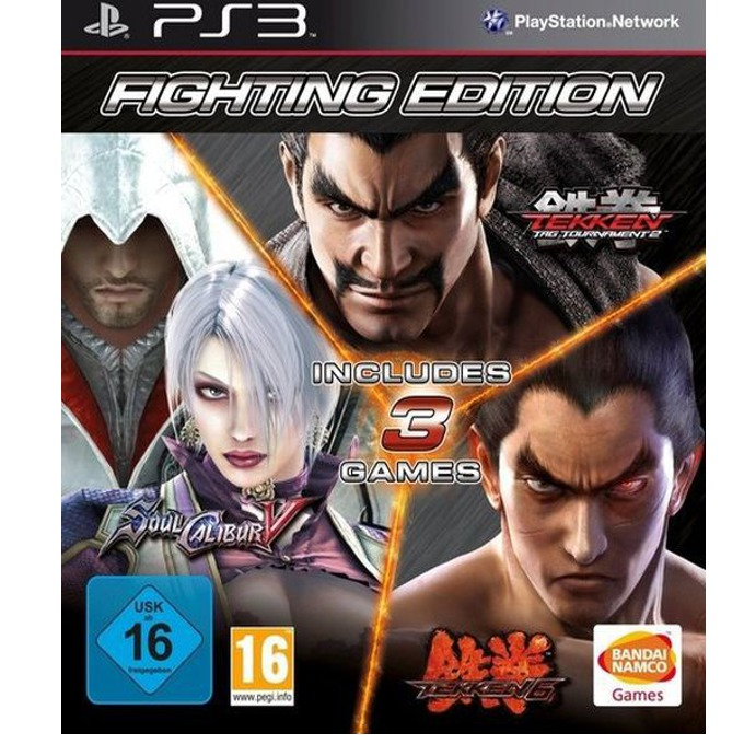 Fighting Compilation, Съдържа : Tekken 6, Soulcalibur 5 и Tekken Tag Tournament 2; за PS3 image