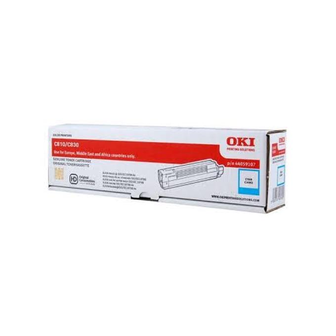 Тонер касета за C-Serie 810/830/800, Cyan, - 44059107 - OKI - Заб.: 8000 к image