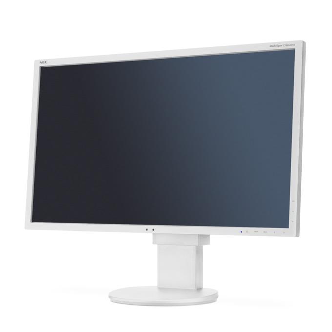 """Монитор NEC EA224WMi, 21.5"""" (54.61 cm) IPS панел, Full HD, 6 ms, 25,000:1, 250 cd/m2, DisplayPort, DVI, VGA image"""