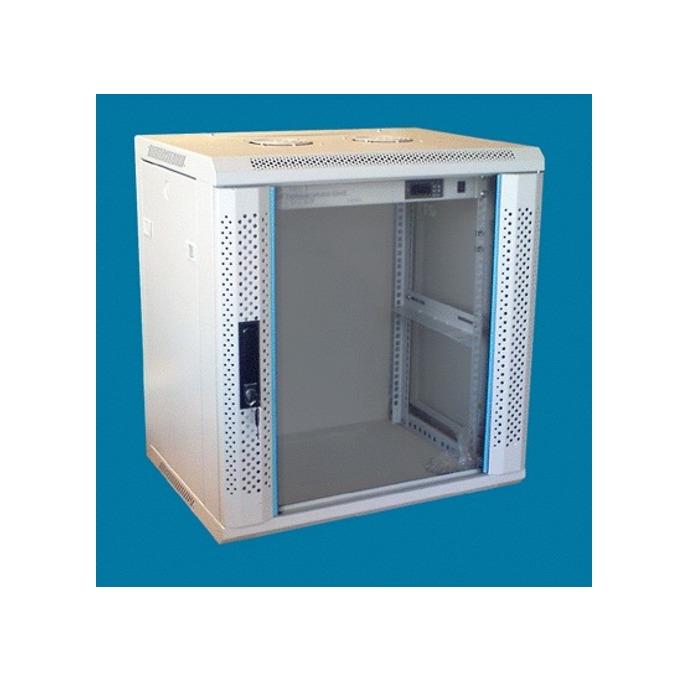 "Комуникационен шкаф Toten WM.6418, 19"", 18U, 600x450 мм, до 60кг товароносимост, IP20 защита image"