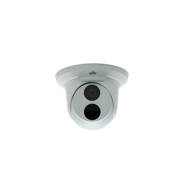 IP камера Uniview IPC3614SR3-DPF28M, куполна, 4 Mpix(2592×1520@25fps), 2.8mm обектив, H.265/H.264/MJPEG, IR осветеност (до 30 метра), външна, IP67 защита image