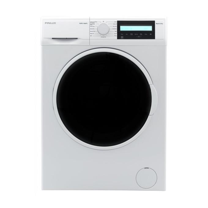 Пералня със сушилня Finlux FXPD 1486FL, клас A, 8 кг. капацитет пералня/6 кг. капацитет сушилня,, 1400 оборота в минута, 15 програми, свободностояща, 60 cm. ширина, таймер за отложен старт, бяла image