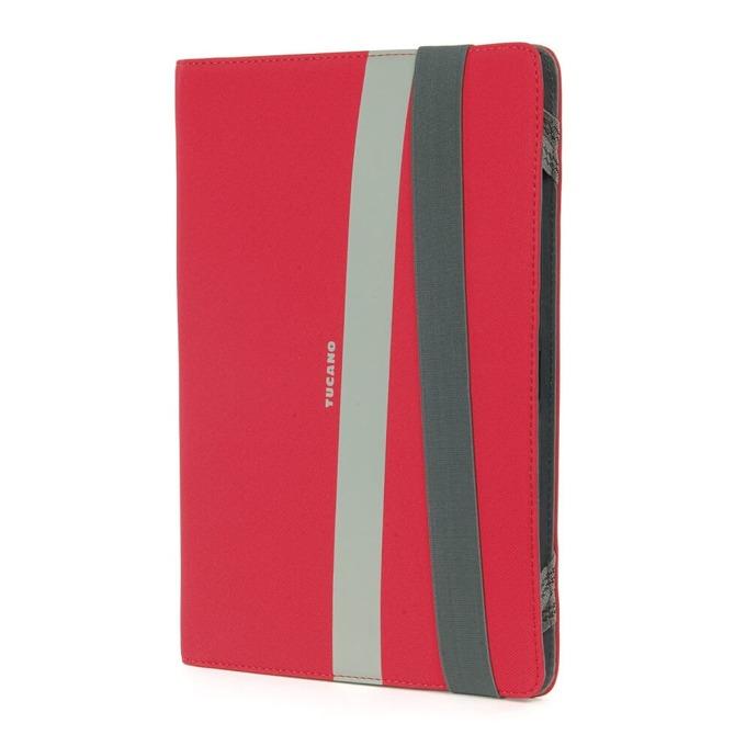 """Калъф за таблет Tucano Unica, за 7.0"""" (17.78 cm), полиутеран, допълнителни отделения, червен image"""
