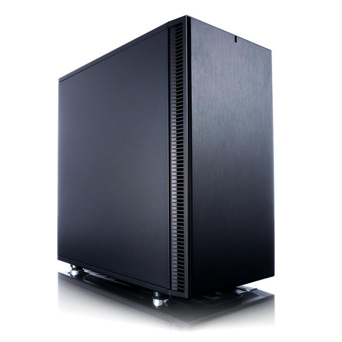 Кутия Fractal Design Define Mini C, Micro ATX/ITX, 2x USB 3.0, черна, без захранване image