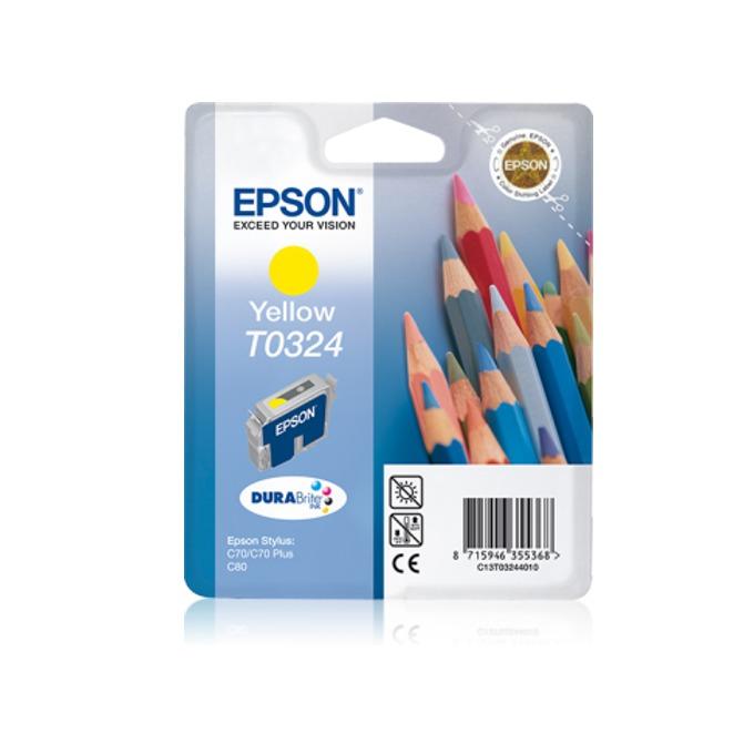 ГЛАВА ЗА EPSON STYLUS C 70/C80 - Yellow - P№ C13T03244010 image