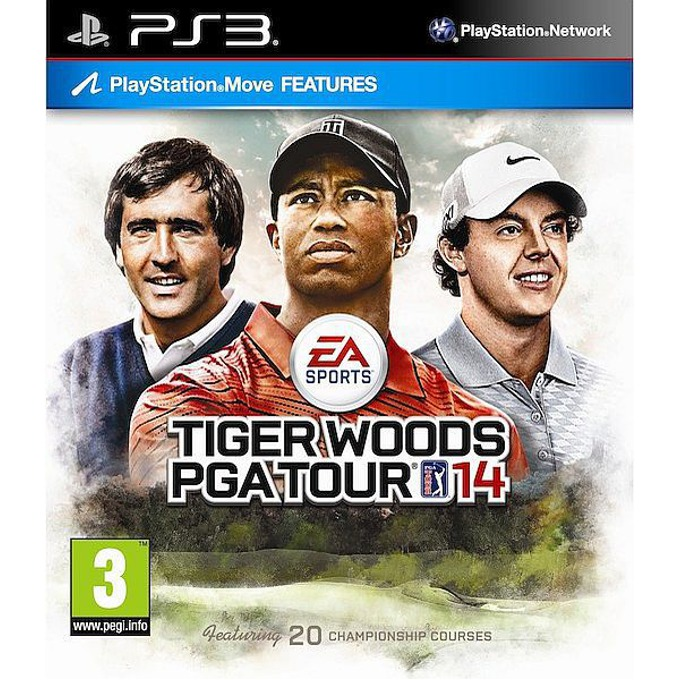 Tiger Woods PGA Tour 14 - Move, за PlayStation 3 image