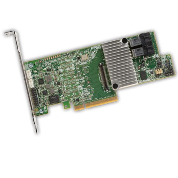 PCI-E 3.0 x8, LSI MegaRAID SAS 9361-8i Sgl, SAS/SATA3, 1GB, RAID 0,1,5,6,10,50, and 60) image