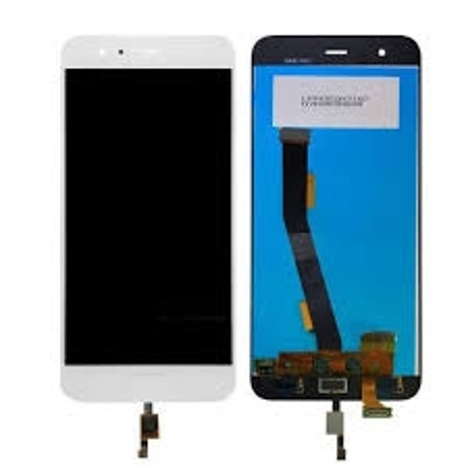 Дисплей за Xiaomi Mi6 LTE DS, LCD Original, с тъч, бял  image