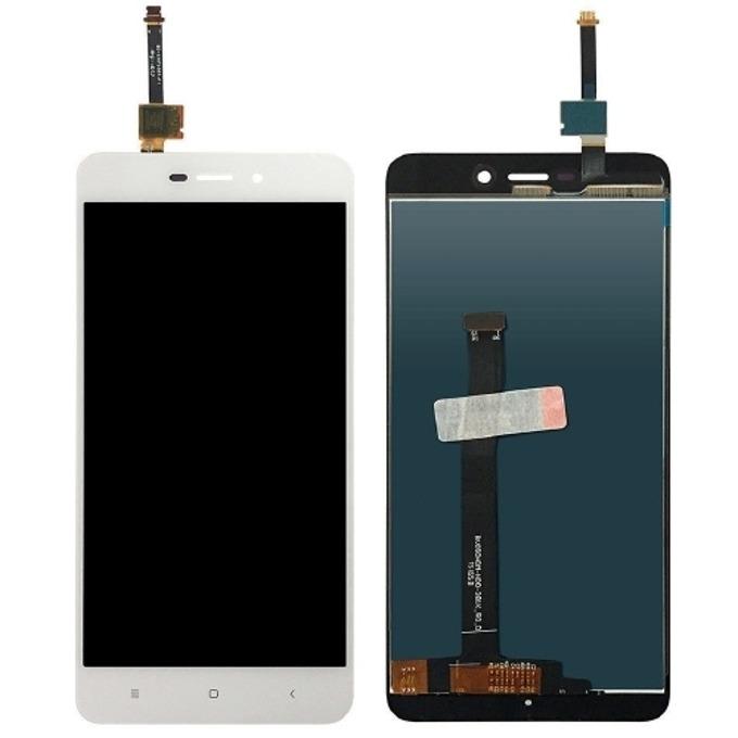 Дисплей за Xiaomi Redmi 4A LTE Dual Sim HD, LCD, с тъч, бял image