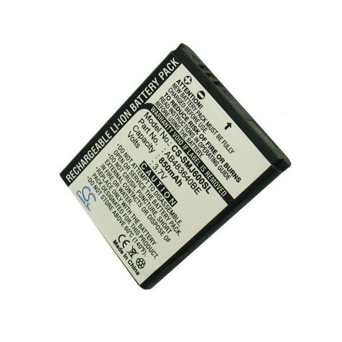 Батерия (заместител) за телефон Samsung SGH-J600/GT-C3050C, 3.7V/850 mAh image