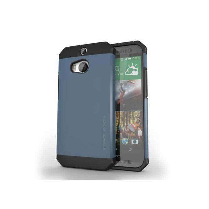 Протектор ZeroLemon за HTC One M8, син image