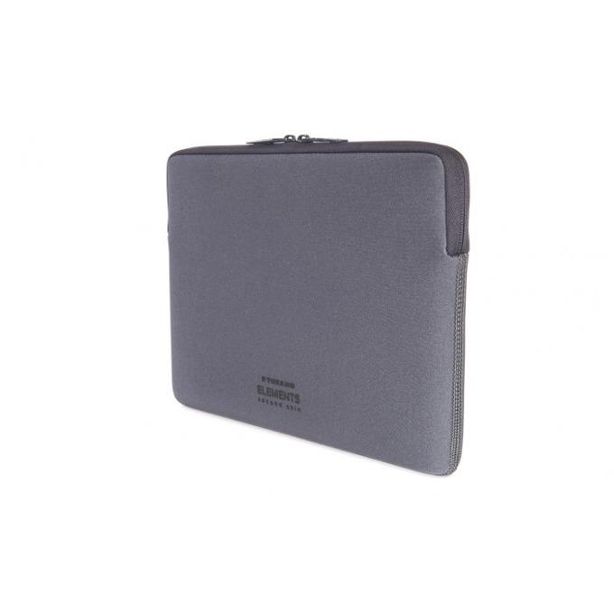 Калъф Tucano New Elements Second Skin за MacBook 12, тъмносив image