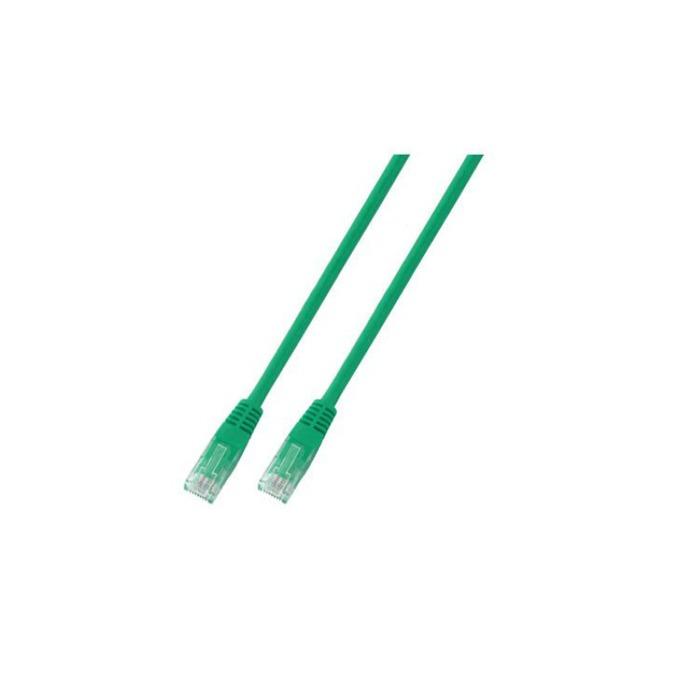 Пач кабел UTP EFB Elektronik, 3m, Cat 5E, зелен image