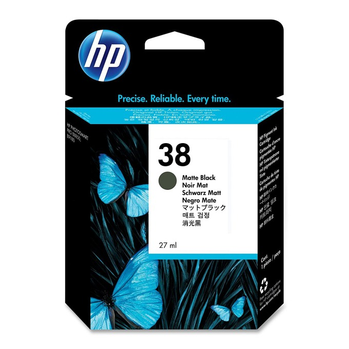 ГЛАВА HEWLETT PACKARD Photosmart Pro B9180 Professional Photo Printer - Matte Black Pigment Ink - P№ C9412A - заб.: 27ml. image