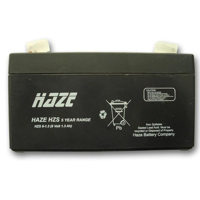 Акумулаторна батерия Haze (HZS6-1.3), 6V, 1.3Ah, AGM image
