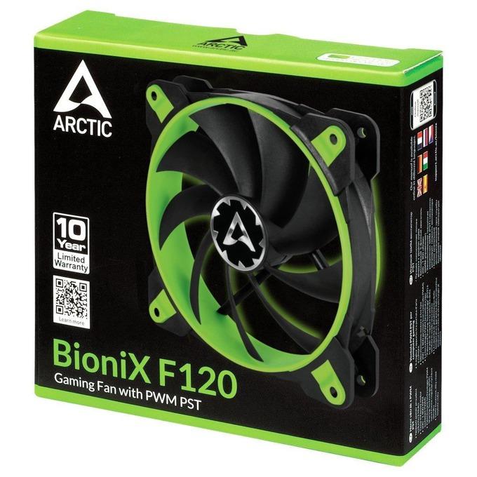 Вентилатор 120mm, Arctic BioniX F120 Green, 4-pin, 1800rpm image