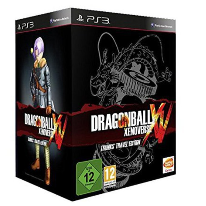 Игра за конзола Dragon Ball Xenoverse Collector Edition, съдържа фигурка Trunks Master Stars Piece, за PS3 image