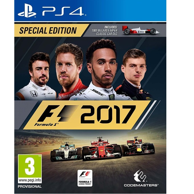 F1 2017 Special Edition, за PS4 image