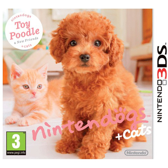 Nintendogs + Cats: Toy Poodle & New Friends, за 3DS image
