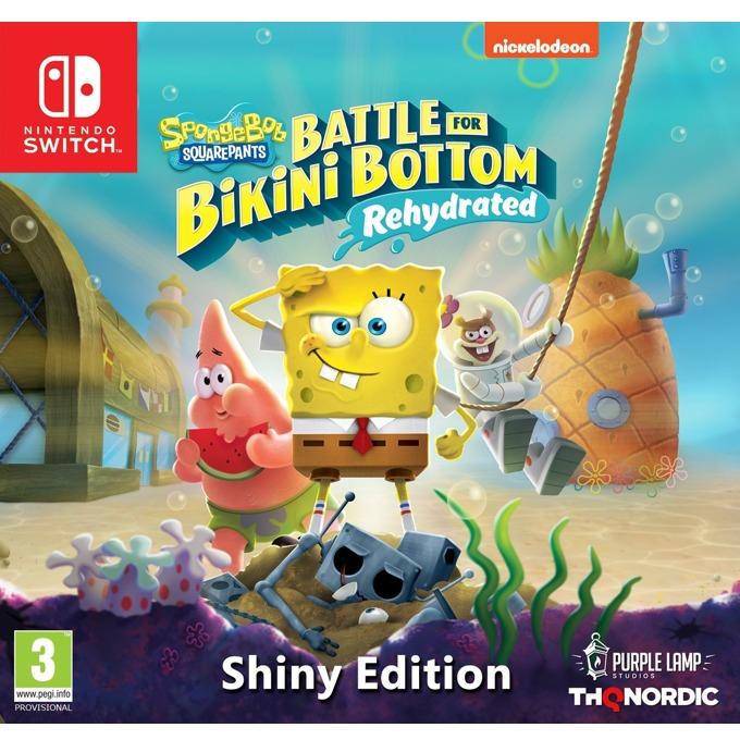 Игра за конзола Spongebob SquarePants: Battle for Bikini Bottom - Rehydrated - Shiny Edition, за Nintendo Switch image