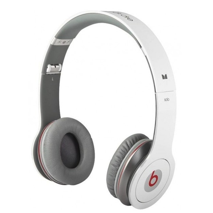 Beats by Dre Solo White Headphones for  HTC product