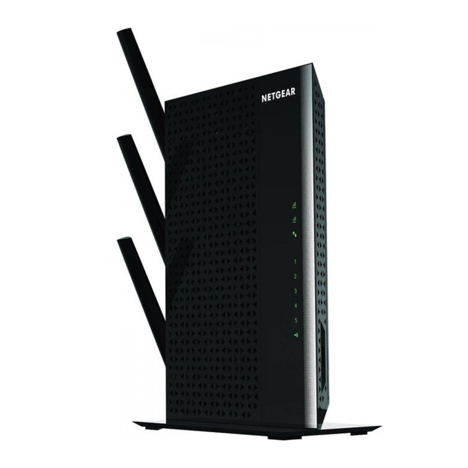 Range Extender/Репитер Netgear Nighthawk WiFi Range Extender (EX7000), DualBand AC1900, 5Port Gigabit Switch, USB3.0 image