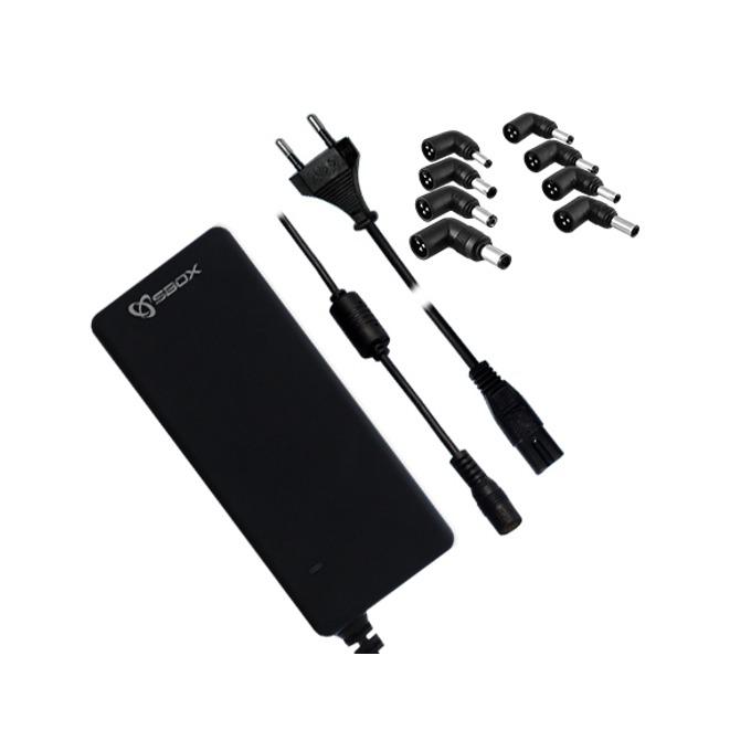 Захранване (универсално) за лаптопи, 19V/4.74A/90W, 8 накрайника, защита от претоварване image