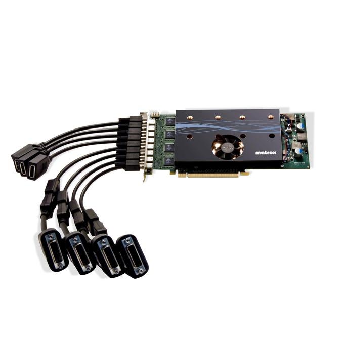 Видео карта Matrox M9188, 2GB, PCI-E, 8x Mini DisplayPort, DVI SL image