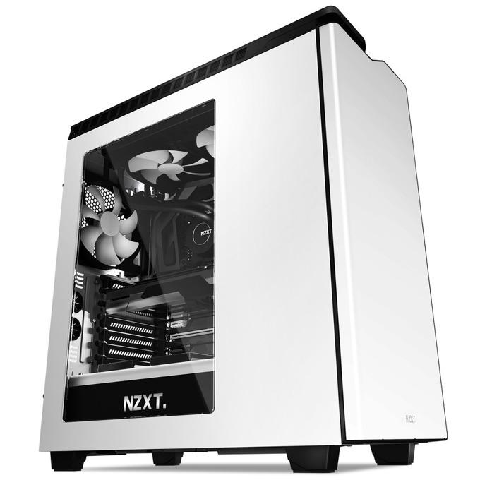 Кутия NZXT H440 White & Black (CA-H442W-W1), ATX, Бяла с черно, USB 3.0, без захранване image