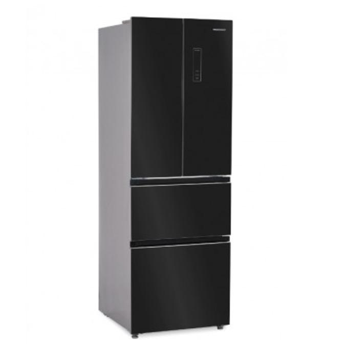 Хладилник с фризер Heinner HCFD-H320GBKA+, 300 л. общ обем, свободностоящ, 314 kWh годишно, Dual Fresh Zone, ECO, черен image