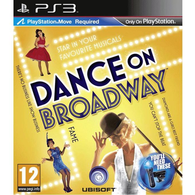 Dance on Broadway - Move, за PlayStation 3 image