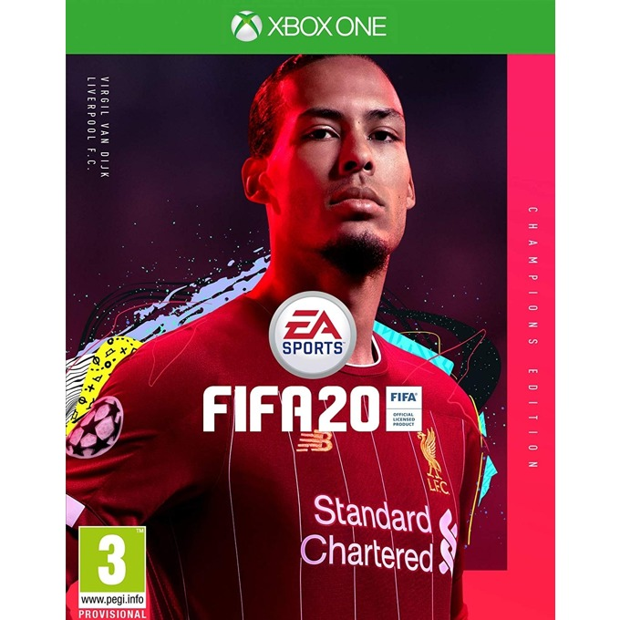 Игра за конзола FIFA 20 - Champions Edition, за Xbox One image