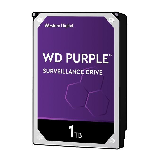 """Твърд диск 1TB WD Purple, SATA 6Gb/s, 5400rpm, 64MB, 3.5""""(8.89 cm) image"""