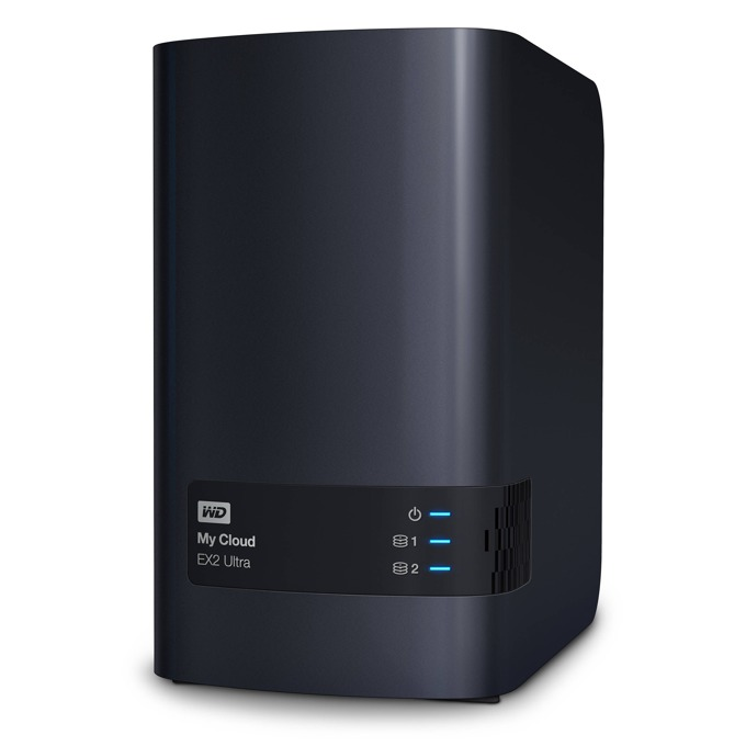 WD My Cloud EX2 Ultra, дву-ядрен Marvell ARMADA 385 1.3GHz, без твърд диск (2x SATA), 1GB RAM, Lan1000, 2x USB 3.0 image
