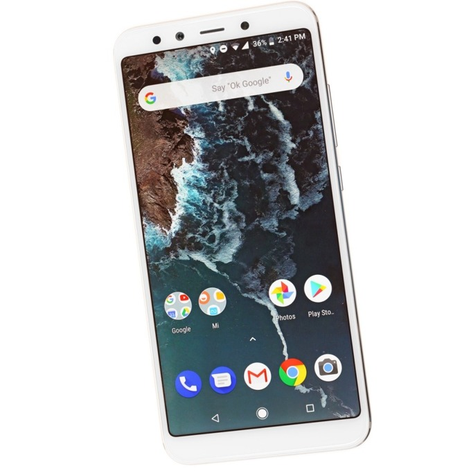 "Смартфон Xiaomi Mi A2 (златист), поддържа 2 sim карти, 5.99"" (15.21 cm), осемядрен Snapdragon 660, 4GB RAM, 32GB Flash памет, 20MPix + 12MPix двойна задна камера & 20MPix предна камера, Android, 168g image"
