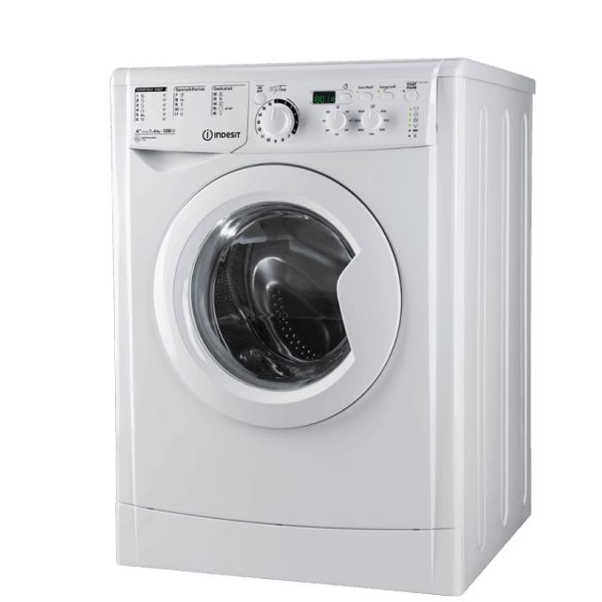 Перална машина Indesit EWSD 60851 W EU, клас A+, 6 кг. капацитет, 800 оборота в минута, свободностояща, 60 cm. ширина, система срещу преливане, бяла image