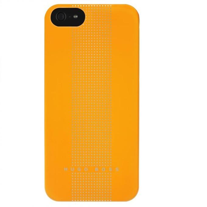 Заден капак HUGO BOSS Dots Hardcover Yellow за iPhone 5/5S луксозен кейс, жълт image