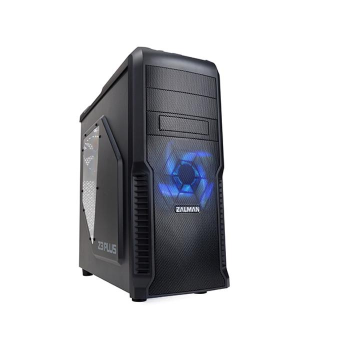 Кутия Zalman Z3 Plus, ATX/Micro ATX, черен, USB 3.0, без захранване image