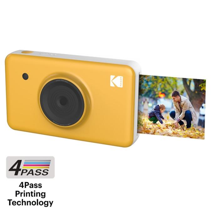 """Фотоапарат KODAK Mini Shot Instant(жълт), 10 Mpix, 1.7"""" (4.31cm) дисплей, Bluetooth, microUSB image"""