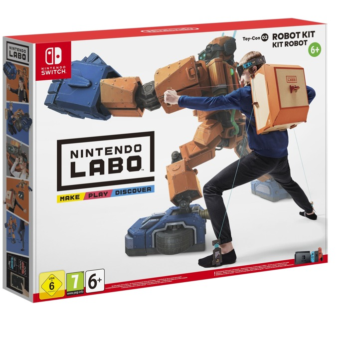 Nintendo LABO - Robot Kit product