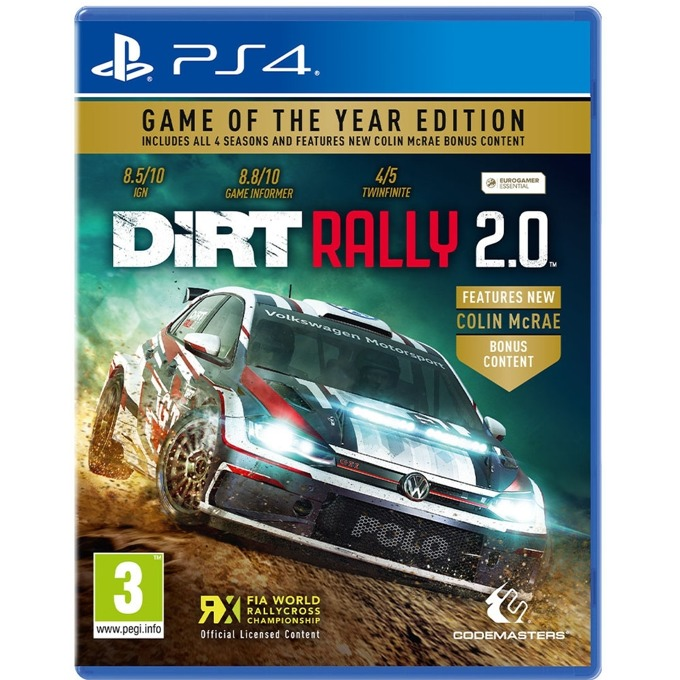 DiRT Rally 2.0 - GOTY PS4 product