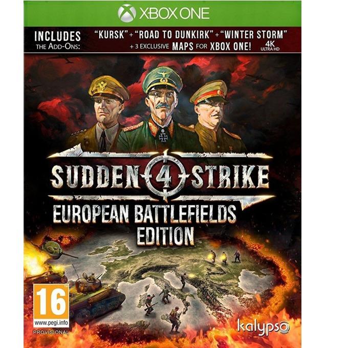 Игра за конзола Sudden Strike 4: European Battlefields Edition, за Xbox One image