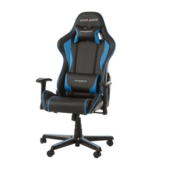 Геймърски стол DXRacer Formula, черен/син image