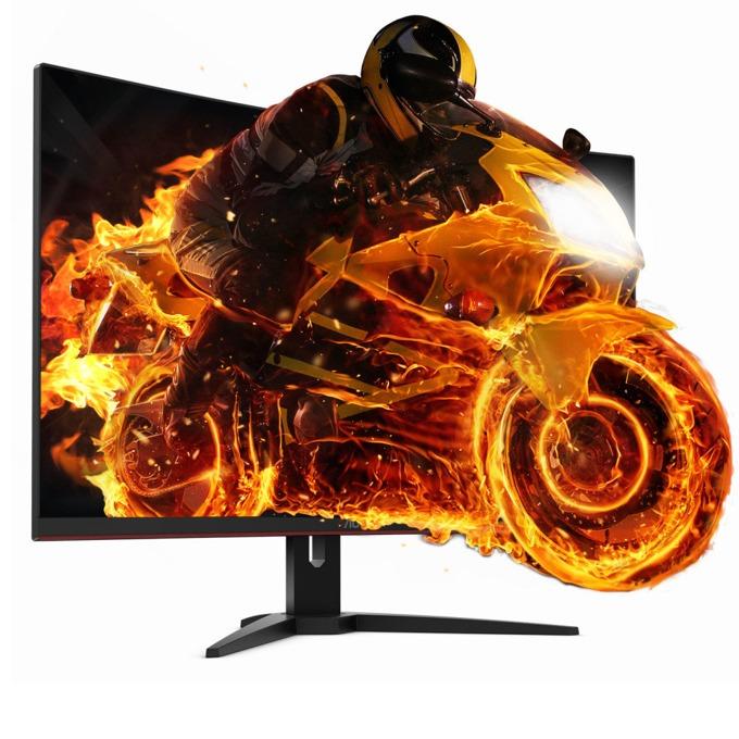 """Монитор AOC C32G1, 31.5""""(80.01 cm), VA панел, Full HD, 1ms, 80M:1, 250 cd/m2, VGA, DisplayPort, HDMI image"""