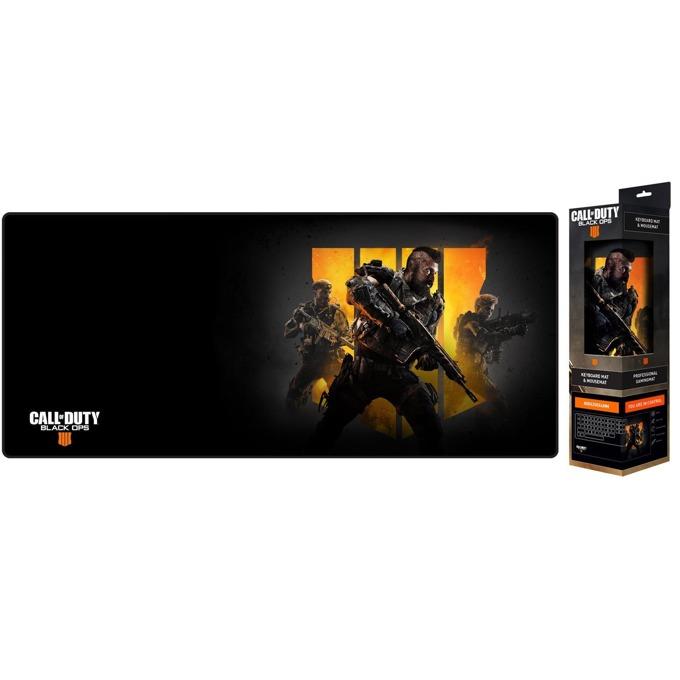 Подложка за мишка Gaya Entertainment Call of Duty: Black Ops 4, гейминг, черна, 800 x 350 x 3mm image