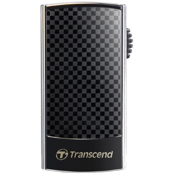 Памет 16GB USB Flash Drive, Transcend JetFlash 560, USB 2.0, черна image